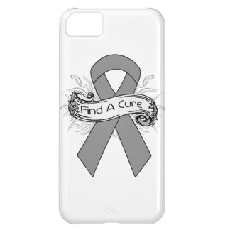 Brain Tumor Find A Cure Ribbon Cover For iPhone 5C