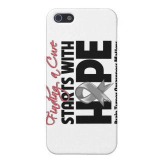 Brain Tumor Finding a Cure Starts With Hope Covers For iPhone 5