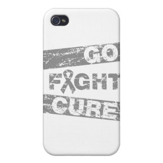 Brain Tumor Go Fight Cure Covers For iPhone 4