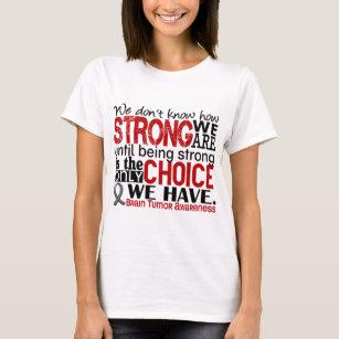 63683a73 Brain Tumor Warrior T-Shirts - T-Shirt Design & Printing | Zazzle