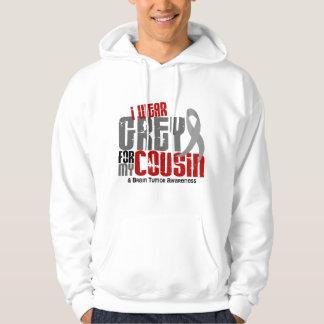 Brain Tumor I Wear Grey For My Cousin 6.2 Hoody