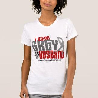 Brain Tumor I Wear Grey For My Husband 6.2 T-Shirt