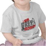 Brain Tumor I Wear Grey For My Mommy 6.2 T-shirts