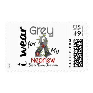 Brain Tumor I Wear Grey For My Nephew 43 Postage