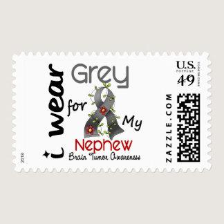 Brain Tumor I Wear Grey For My Nephew 43 Postage
