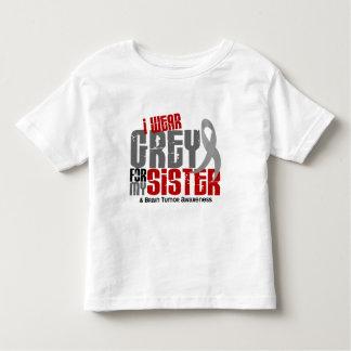 Brain Tumor I Wear Grey For My Sister 6.2 T Shirt