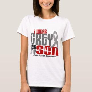 Brain Tumor I Wear Grey For My Son 6.2 T-Shirt