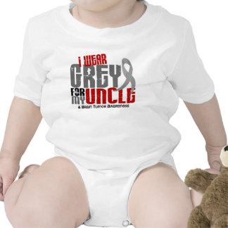 Brain Tumor I Wear Grey For My Uncle 6.2 Tshirts