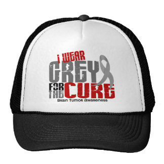 Brain Tumor I Wear Grey For The Cure 6.2 Hat
