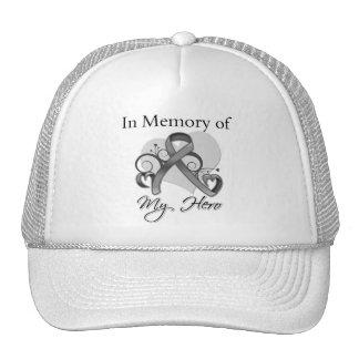 Brain Tumor In Memory of My Hero Trucker Hat