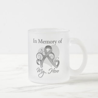 Brain Tumor In Memory of My Hero Coffee Mugs