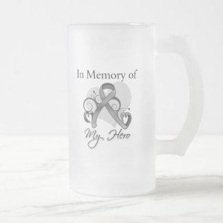 Brain Tumor In Memory of My Hero Mug