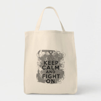 Brain Tumor Keep Calm and Fight On Bag