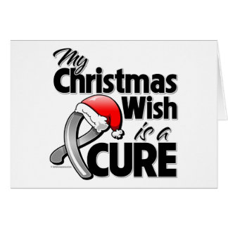 Brain Tumor My Christmas Wish is a Cure Cards