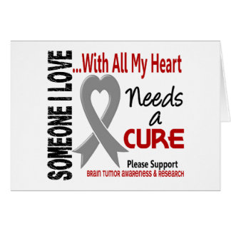 Brain Tumor Needs A Cure 3 Card