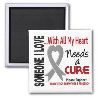 Brain Tumor Needs A Cure 3 Magnets