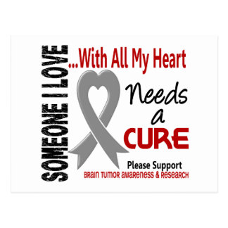 Brain Tumor Needs A Cure 3 Postcard