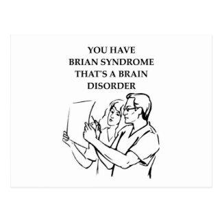brain tumor post card