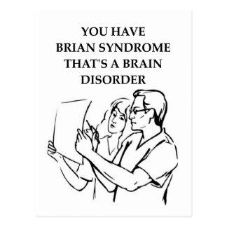 brain tumor post cards