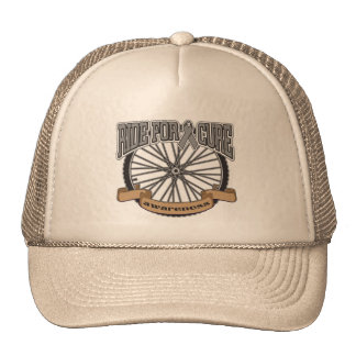 Brain Tumor Ride For Cure Mesh Hats