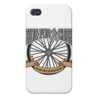Brain Tumor Ride For Cure iPhone 4 Case