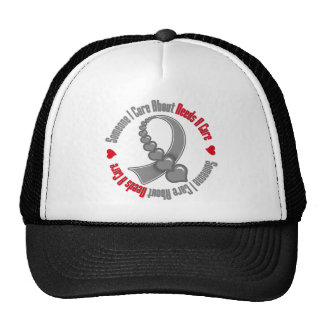 Brain Tumor Someone I Care About Needs A Cure Mesh Hat