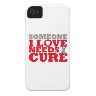 Brain Tumor Someone I Love Needs A Cure Case-Mate iPhone 4 Case
