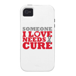 Brain Tumor Someone I Love Needs A Cure iPhone 4/4S Covers
