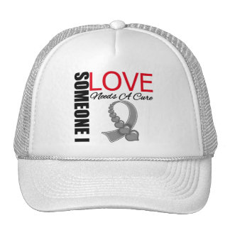 Brain Tumor Someone I Love Needs A Cure Hat
