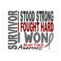 Brain Tumor Survivor 4 Postcard