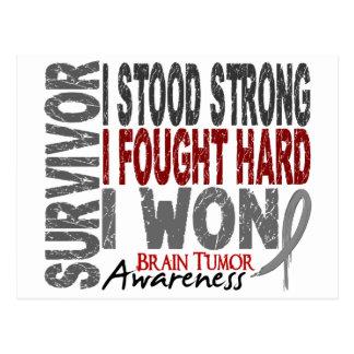 Brain Tumor Survivor 4 Postcard