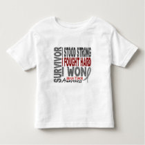 Brain Tumor Survivor 4 Toddler T-shirt