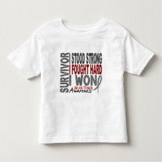 Brain Tumor Survivor 4 Toddler T-shirt