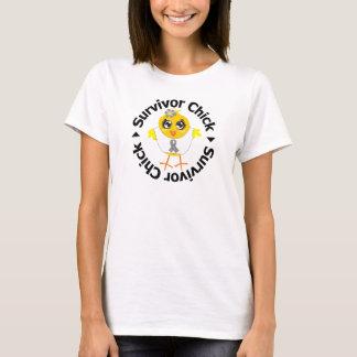 Brain Tumor Survivor Chick T-Shirt