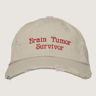 Brain Tumor Survivor Embroidered Baseball Cap