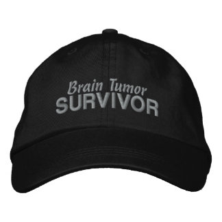 Brain Tumor Survivor Embroidered Baseball Hat