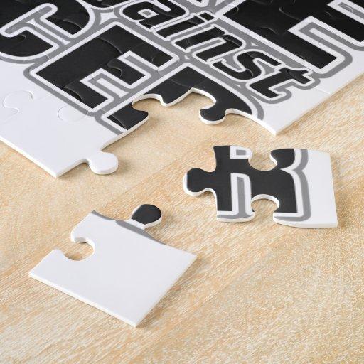 Brain Tumor -Take A Stand Against Cancer Puzzle