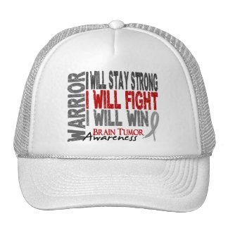 Brain Tumor Warrior Mesh Hats
