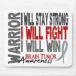 Brain Tumor Warrior Mouse Pad