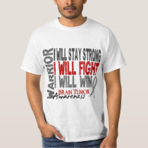 Brain Tumor Warrior T-Shirt