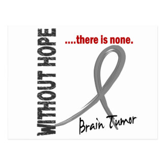 Brain Tumor Without Hope 1 Postcard