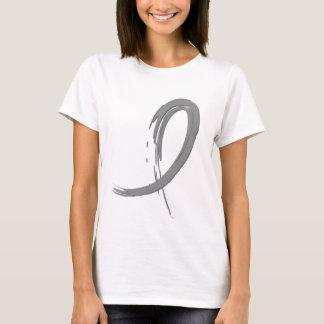 Brain Tumor's Grey Ribbon A4 T-Shirt
