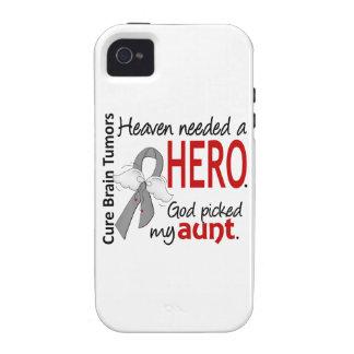 Brain Tumors Heaven Needed a Hero Aunt Vibe iPhone 4 Cases
