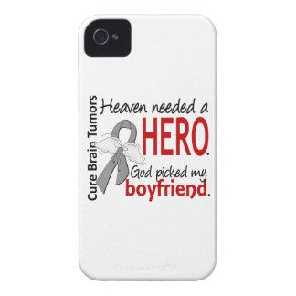 Brain Tumors Heaven Needed a Hero Boyfriend Case-Mate iPhone 4 Case