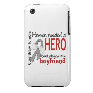 Brain Tumors Heaven Needed a Hero Boyfriend iPhone 3 Case-Mate Cases