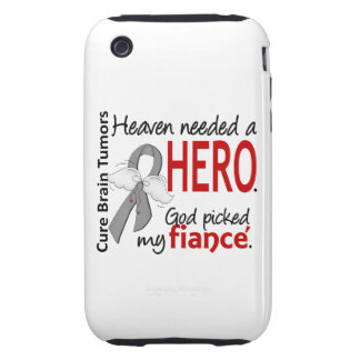 Brain Tumors Heaven Needed a Hero Fiance Tough iPhone 3 Cases