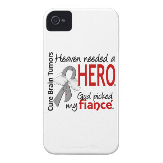 Brain Tumors Heaven Needed a Hero Fiance iPhone 4 Case-Mate Cases