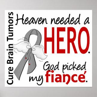 Brain Tumors Heaven Needed a Hero Fiance Poster