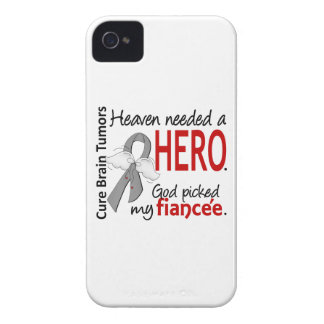 Brain Tumors Heaven Needed a Hero Fiancee iPhone 4 Case-Mate Cases
