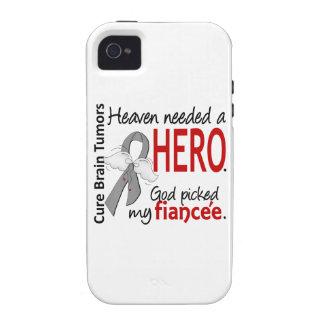 Brain Tumors Heaven Needed a Hero Fiancee iPhone 4 Cases